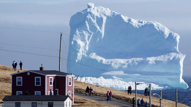 NASA açıkladı ! Buz kütlesi kopuyor