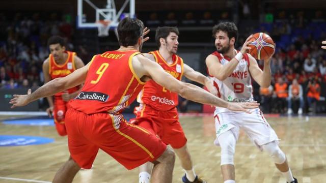 İspanya 74 - 58 Türkiye (2019 FIBA Dünya Kupası Avrupa Elemeleri)