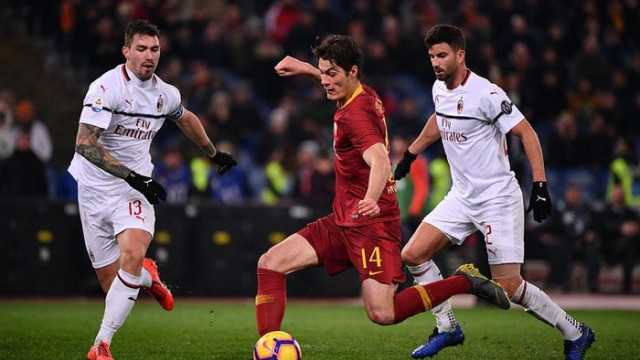 Roma 1 - 1 Milan (İtalya Serie A)