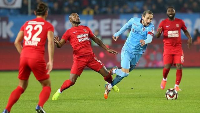 Trabzonspor 0 - 0 Ümraniyespor