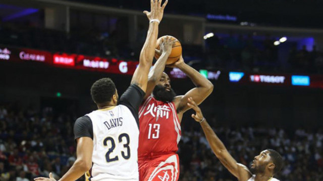 James Harden'den Sacremento Kings potasına 36 sayı