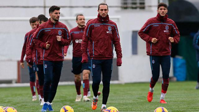 Trabzonspor'da Galatasaray hazırlıkları