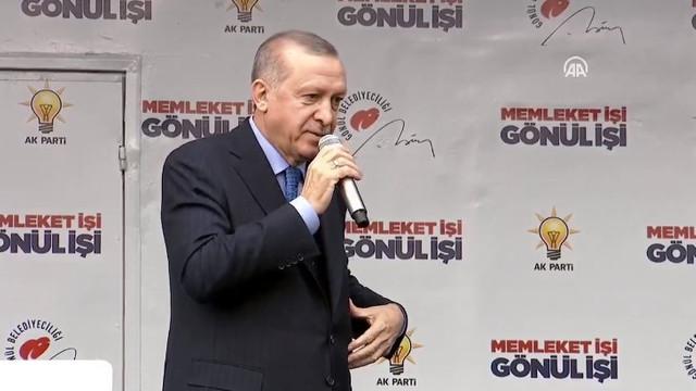 Erdoğan: Domatese bibere sarılmış durumdalar