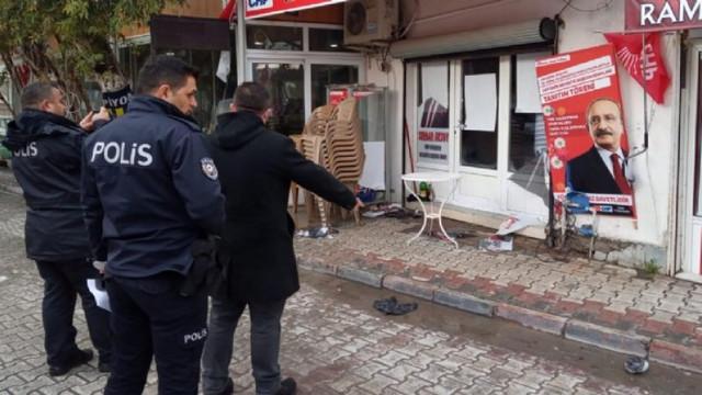 Seçime günler kala CHP seçim ofisine bir saldırı daha