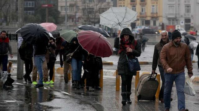 Soğuk ve yağışlı kış havası ne kadar daha devam edecek ?