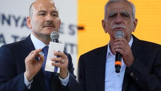Ahmet Türk'ten Soylu'nun sözlerine yanıt