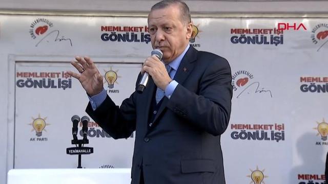 Erdoğan'dan ilginç çıkış: Bukalemun ittifakı kurdular