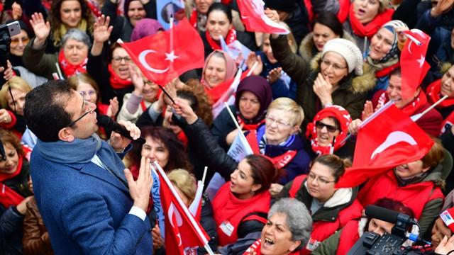 Ekrem İmamoğlu: ''Rakibime oy atanın eli titreyecek!''