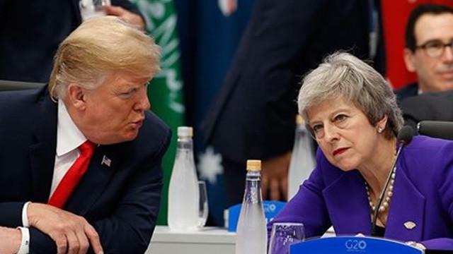 Trump'tan Brexit açıklaması: Utanç verici