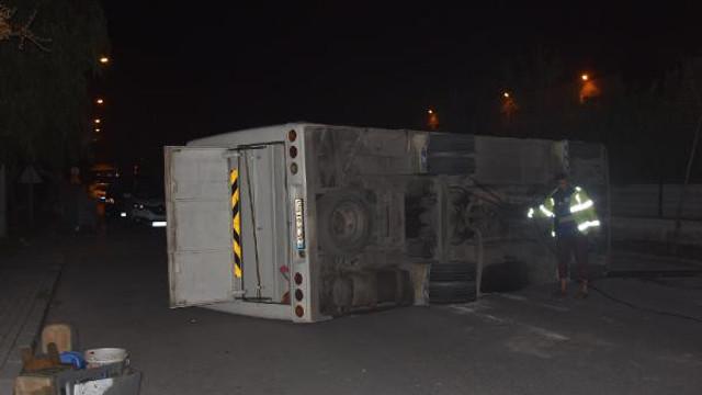 Feci kaza ! Otobüs ile minibüs çarpıştı: 10 yaralı