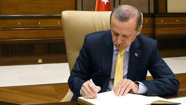 Atama ve görevden alma kararı Resmi Gazete'de