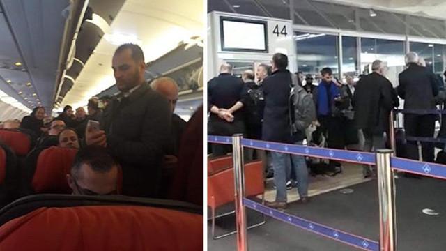THY uçağı kalkışta arıza yaptı, yolcular isyan etti