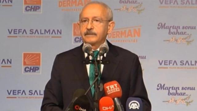 Kılıçdaroğlu: ''Türkiye'nin yeni bir siyasi anlayışa ihtiyacı var''