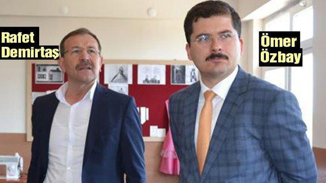 AK Partili başkandan bomba iddialar !