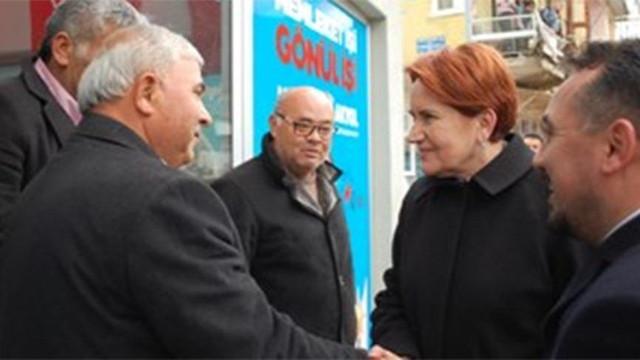 Akşener'den AK Parti'ye sürpriz ziyaret