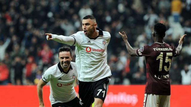 Beşiktaş'ta Burak Yılmaz durdurulamıyor!