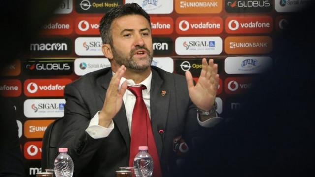 Arnavutluk'un hocası Christian Panucci'den Türkiye'ye övgü