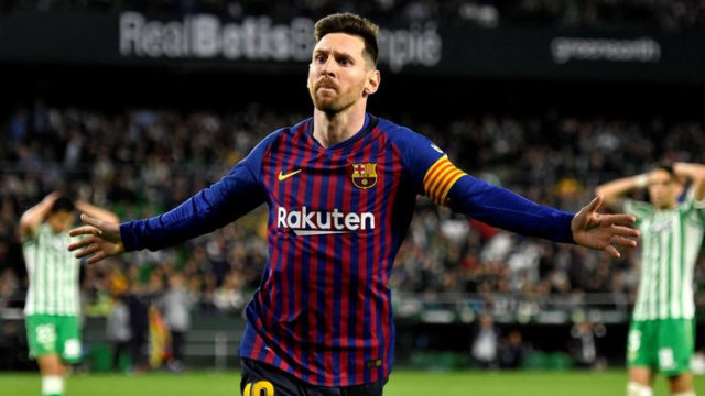 Real Betis 1 - 4 Barcelona