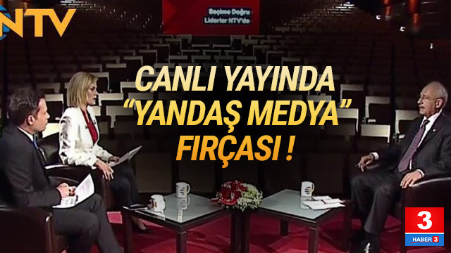 Kılıçdaroğlu'ndan canlı yayında sert sözler: İktidardan mı korkuyorsunuz ?