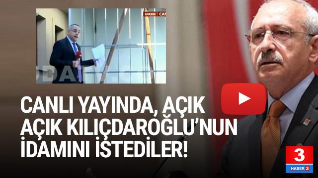 Akit TV Kılıçdaroğlu'nun idamını istedi