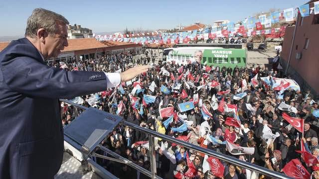 Mansur Yavaş: ''Ankara'nın Ankaralı bir belediye başkanı olacak''