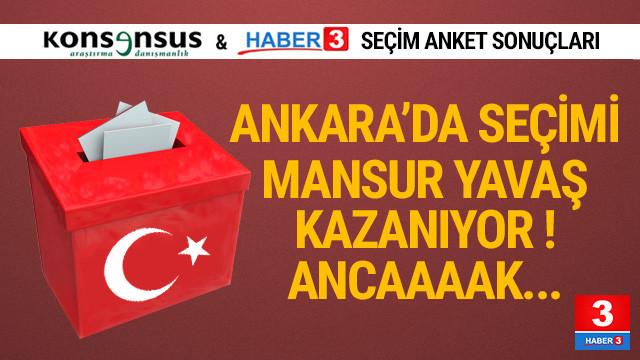 Konsensus son yerel seçim anket sonuçlarını açıkladı
