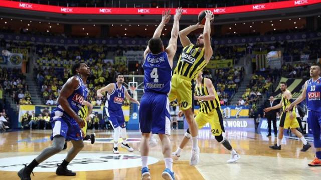 Fenerbahçe Beko 76 - 67 Buducnost VOLI