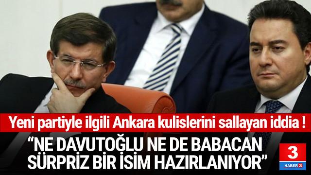 Yeni partiyle ilgili bomba iddia: Ne Davutoğlu ne de Babacan...