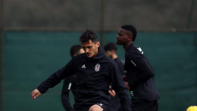 Beşiktaş Çaykur Rizespor maçının hazırlıklarını sürdürdü