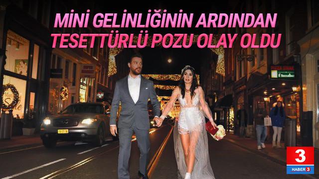 Sinan Akçıl'ın eşi Burcu Kıratlı tesettürlü fotoğraf paylaştı