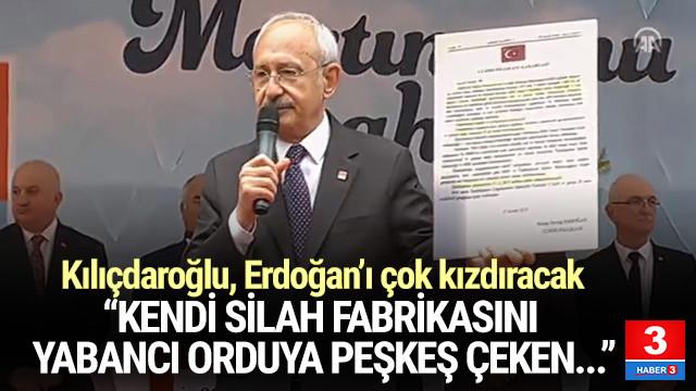 Kılıçdaroğlu'ndan hükümete silah fabrikası eleştirisi