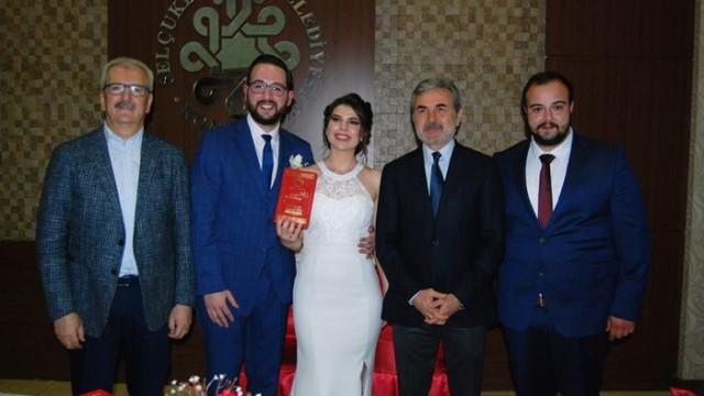 Aykut Kocaman Seda Erciş - Esat Soydabircan nikah şahitliğini yaptı