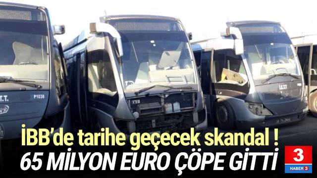 65 milyon euroya alınan metrobüsler hurdaya çıktı