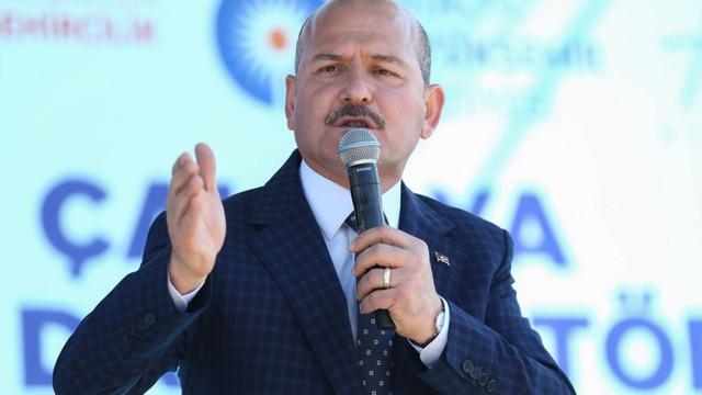 CHP'den İçişleri Bakanı Soylu'ya rest