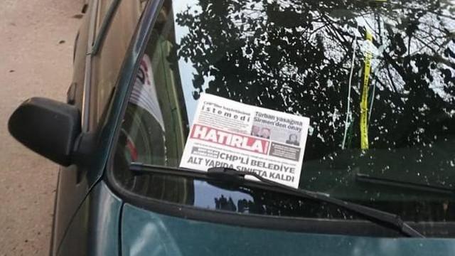 Muhalefeti karalayan korsan gazete bastılar