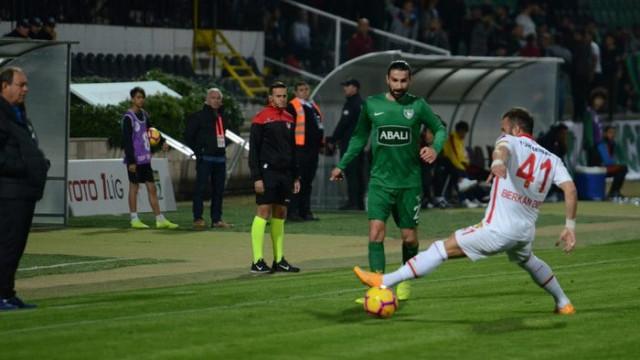 Göztepe hazırlık maçında Abalı Denizspor'a mağlup oldu