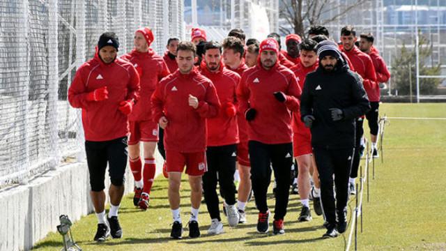 Demir Grup Sivasspor'da Kayserispor maçı hazırlıkları sürüyor