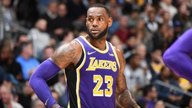 Los Angeles Lakers 99 - 115 Denver Nuggets (LeBron James, Michael Jordan'ı geçti)