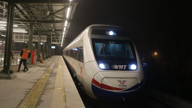 Bakan Turhan Hızlı tren müjdesini verdi