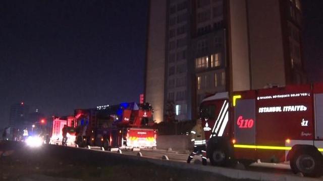 İstanbul'da lüks rezidans'ta yangın: 150 kişi tahliye edildi