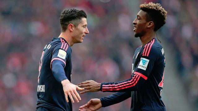 Bayern Münih antrenmanında Lewandowski ve Coman kavga etti!