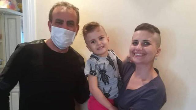 Haluk Levent'ten minik Öykü'ye hastanede sürpriz