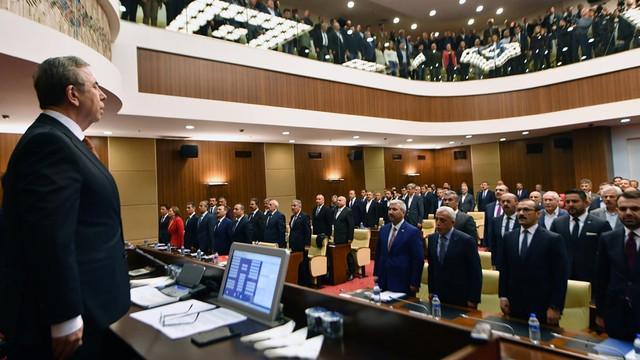 Ankara'da Mansur Yavaş'lı ilk toplantı