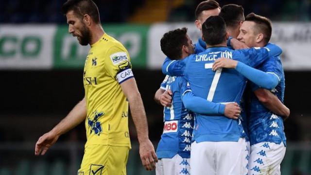 Chievo 1 - 3 Napoli
