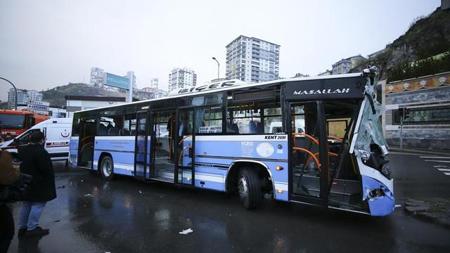 Özel Halk Otobüsü dehşeti: 10 yaralı var !