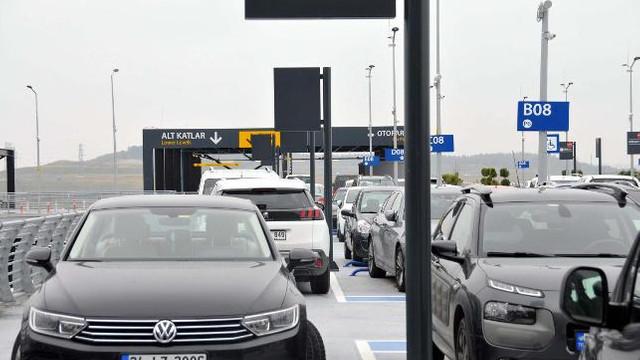 İstanbul Havalimanı'nda otopark artık ücretli