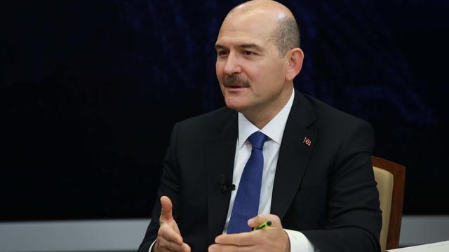 Bakan Soylu canlı yayına bağlandı: ''Seçim sistemimiz güvenli''