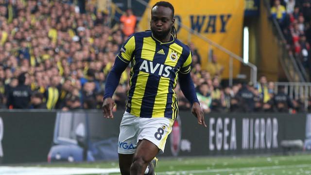 Fenerbahçe'de Victor Moses'ın kasık bölgesinde yırtık tespit edildi