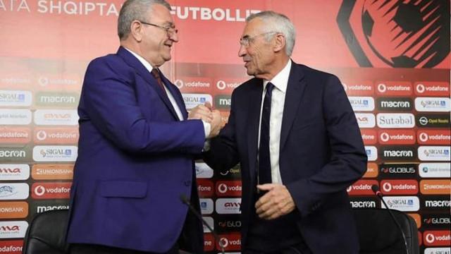 Arnavutluk'un yeni hocası Edoardo Reja oldu