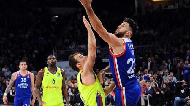 THY Euroleague'de play-off turunda ilk maçların MVP'si Vasilije Micic